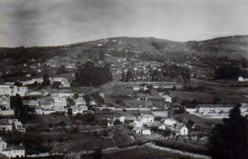 Monte Pornedo: postal de Maki, 1956