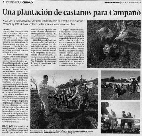 Diario, 1 marzo 2016.