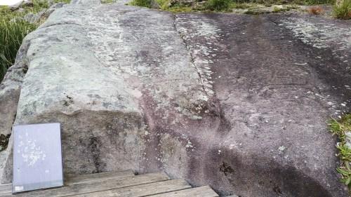Laxe das Lebres: Área Arqueolóxica da Caeira.