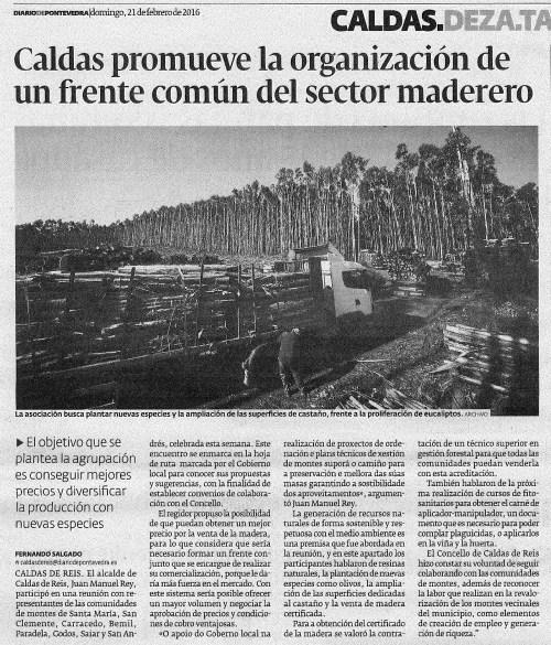 Diario, 21 febreiro 2016
