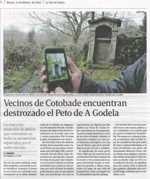 La Voz, 23 febreiro 2016