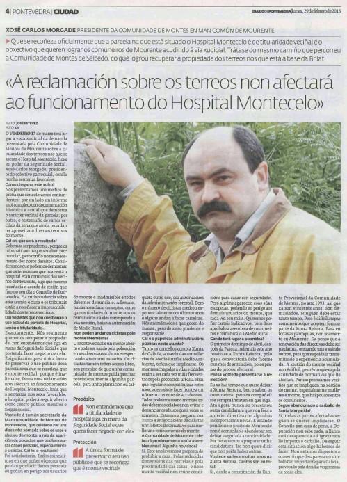 Diario, 29 febreiro 2016