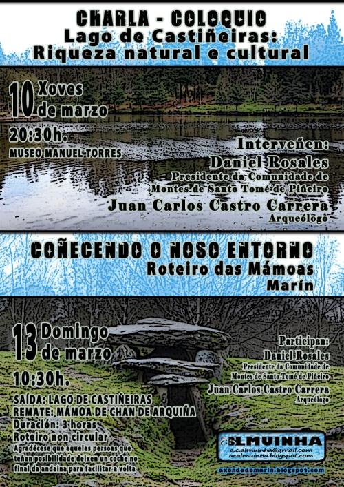 Actividades sobre o Lago de Castiñeiras
