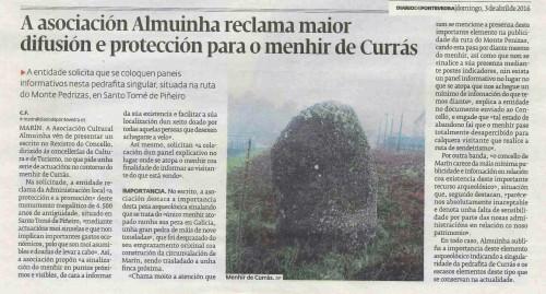 Diario, 3 abril 2016