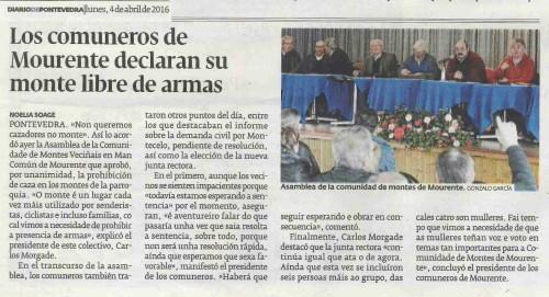 Diario, 4 abril 2016