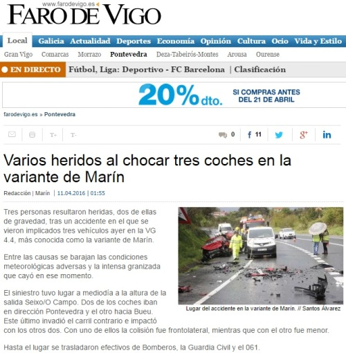 Faro, 11 abril 2016