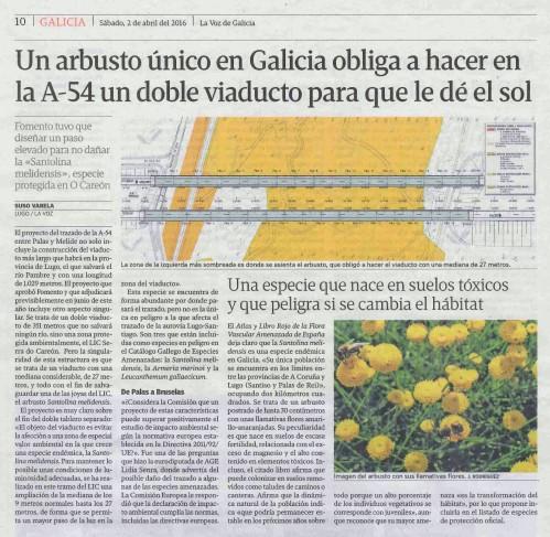 La Voz, 2 abril 2016