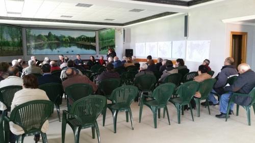 Reunión da Asociación de Propietarios de Monte Privado do Morrazo.