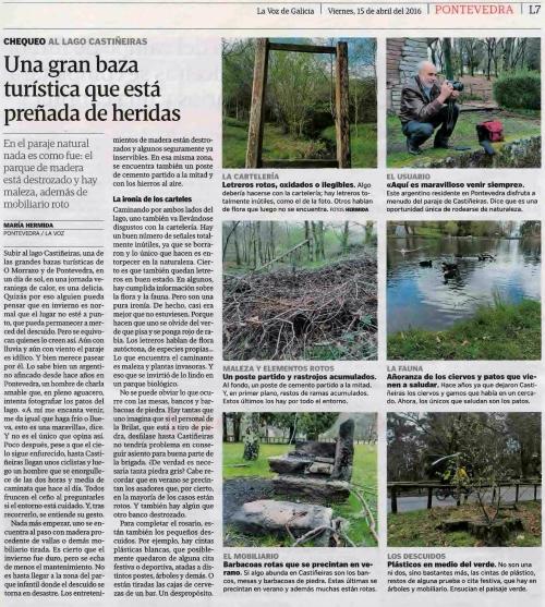 La Voz, 15 abril 2016