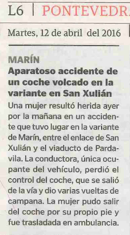 La Voz, 12 abril 2016