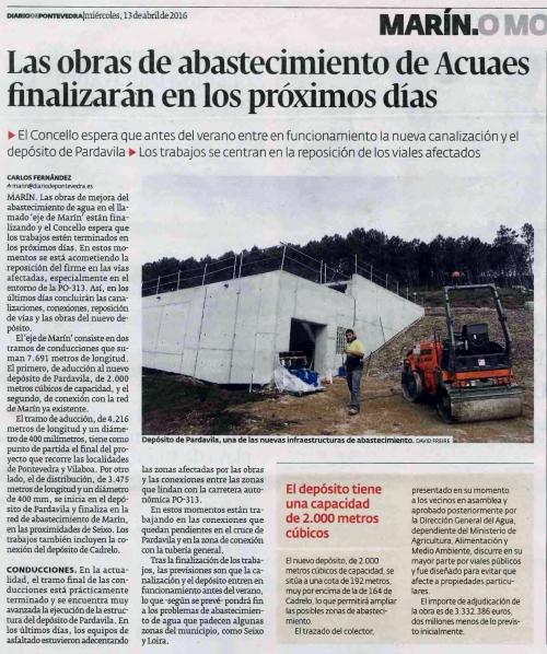 Diario, 13 abril 2016