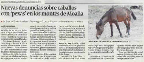 Diario, 30 marzo 2016