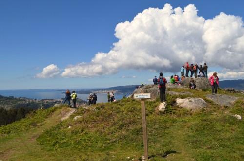 Ruta polo Espazo Natural e Arqueolóxico dos Sete Camiños organizada por Almuinha.