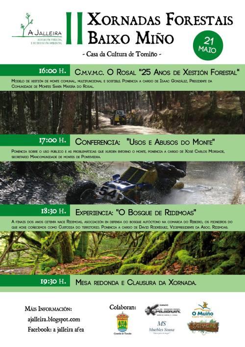 II Xornadas Forestais do Baixo Miño