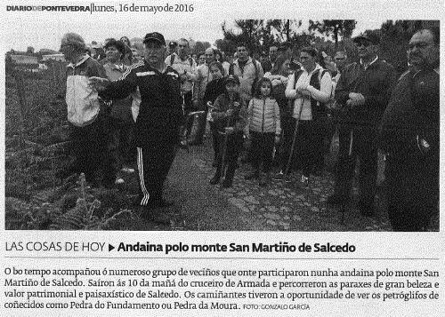 Diario, 16 maio 2016