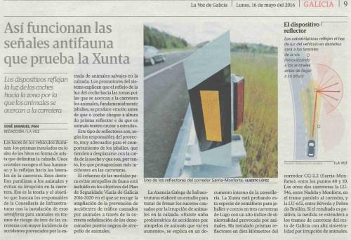 La Voz, 16 maio 2016