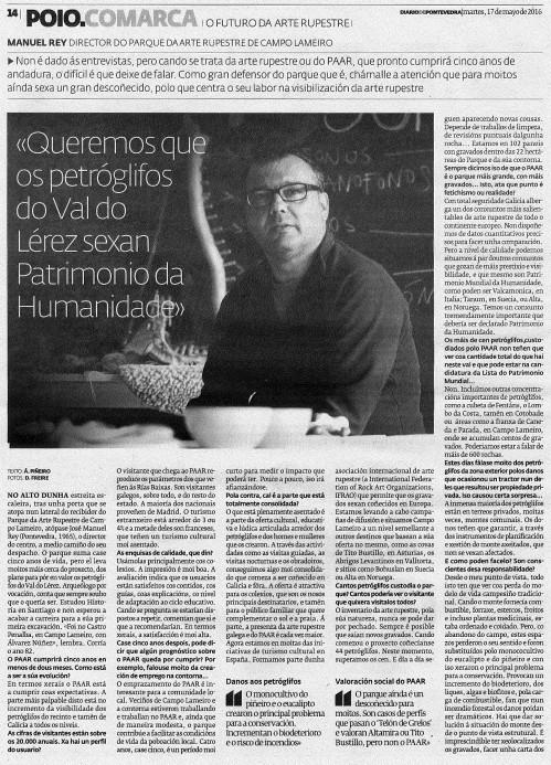 Diario, 17 maio 2016