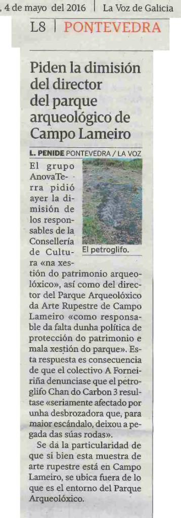 La Voz, 4 maio 2016