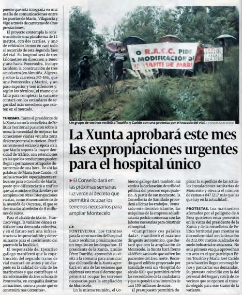 Diario, xaneiro 2009