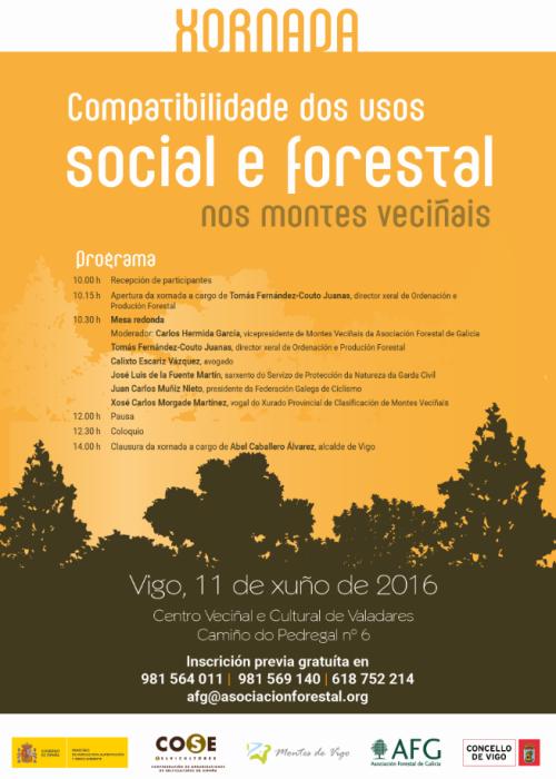 Compatibilidade dos usos social e forestal do monte veciñal