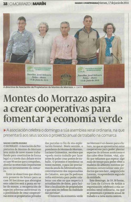Diario, 17 xuño 2016