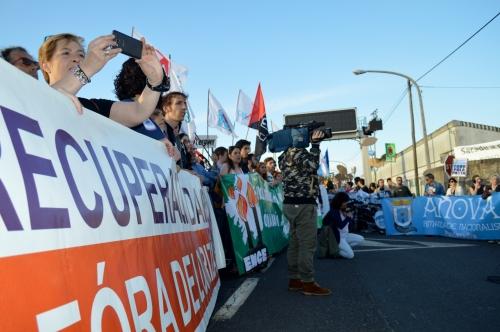 Marcha contra Celulosas-Elnosa 2016
