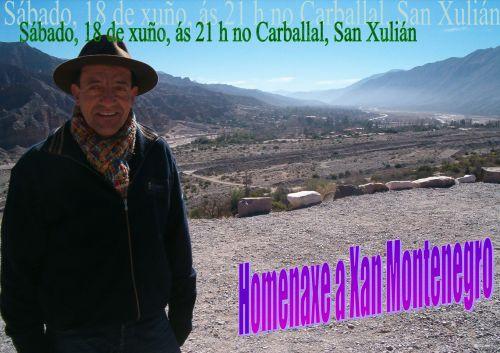 Homenaxe a Xan Montenegro, 5º cabodano