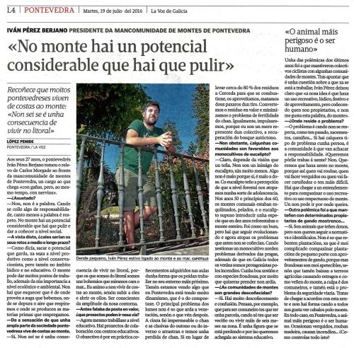 La Voz, 19 xullo 2016