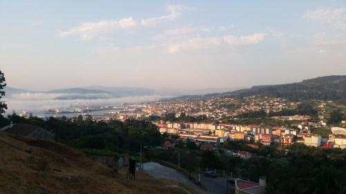 Vista do Monte Pituco dende o castro da Subidá