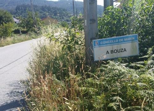 Estrada de San Xulián: A Bouza - O Caeiro.