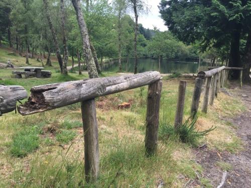 Situación do Lago de Castiñeiras (foto: Comunidade de Montes S. Martiño de Vilaboa).