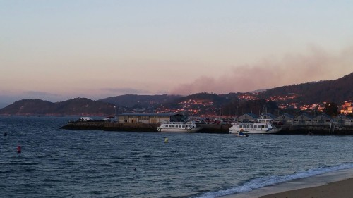 Incendio en Penizas, Marín