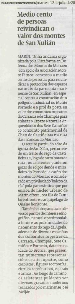 Diario, 12 xullo 2016