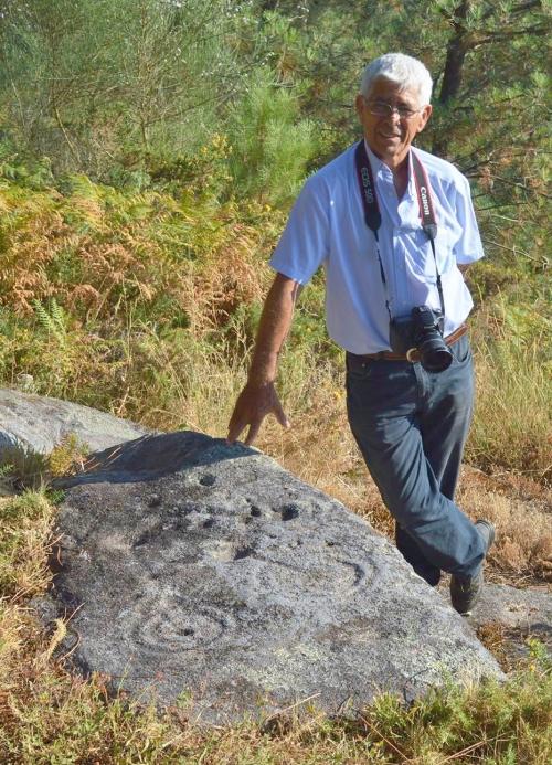 Antonio Costa, en Pinal de Caeiro