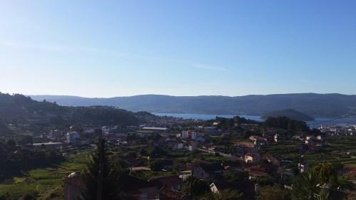 Vista de Marín desde Briasco