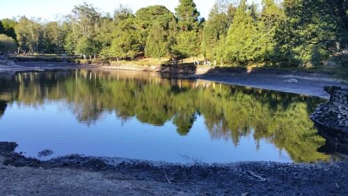 Escased de auga no lago20160821_195933
