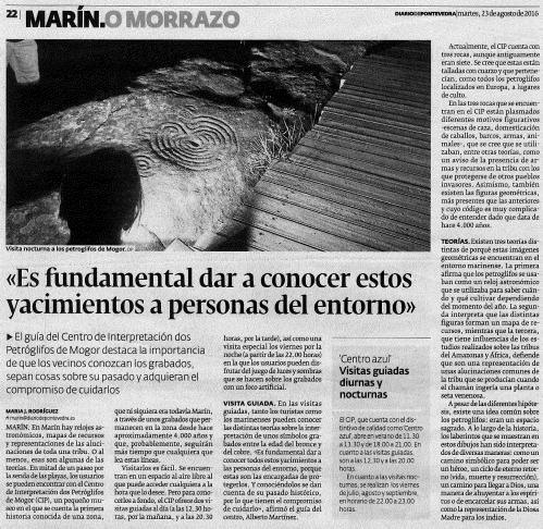 Diario, 23 agosto 2016