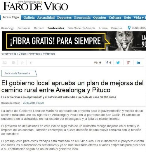Faro, 25 agosto 2016