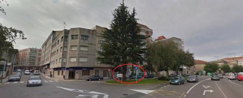 Cruce da Avda. de Ourense coa rúa República Arxentina