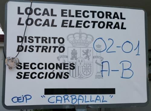25 de setembro: votando en Viñas Brancas