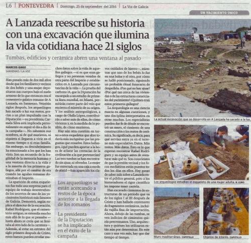 La Voz, 25 setembro 2016