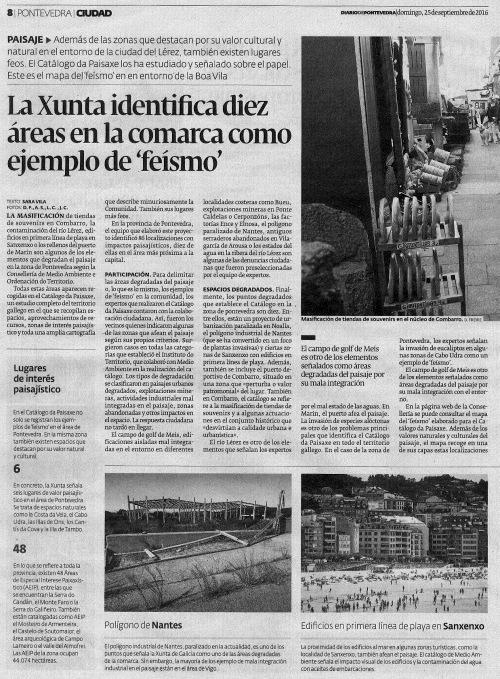 Diario, 25 setembro 2016.