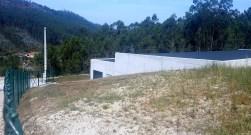 Novo depósito de auga construído por ACUAES no monte veciñal de San Xulián, en Pardavila.