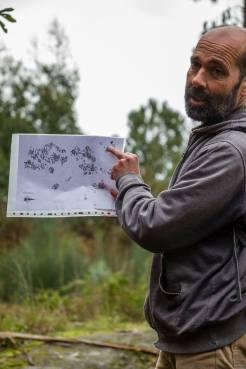 Petroglifo de Abelaires (foto, F. Currás)