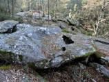 Formacións rochosas (foto, Paulo Troitiño).