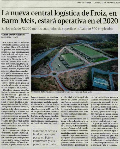 La Voz, 12 xaneiro 2017