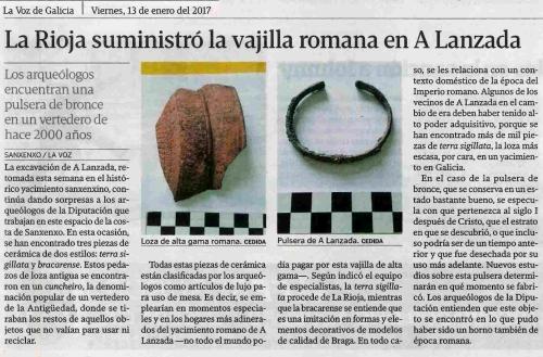 La Voz, 13 xaneiro 2017