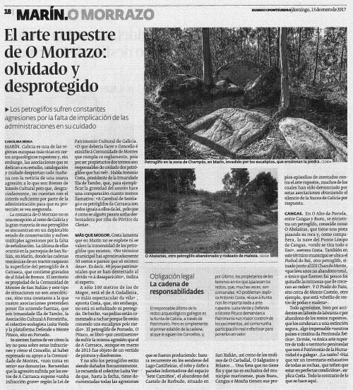 Diario, 15 xaneiro 2017