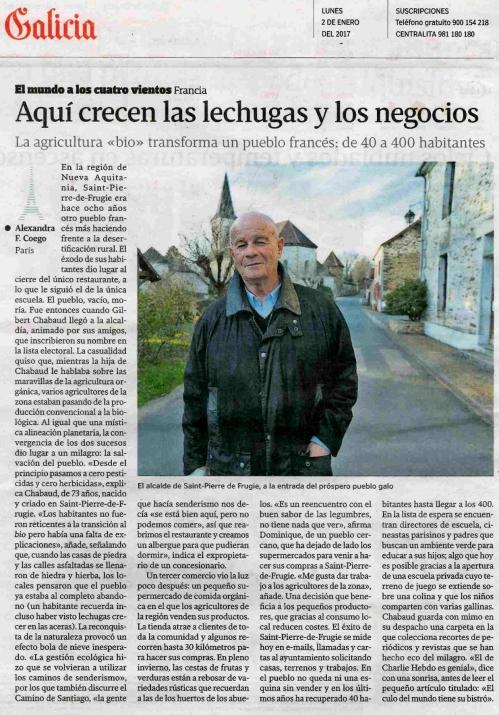 La Voz, 2 xaneiro 2017