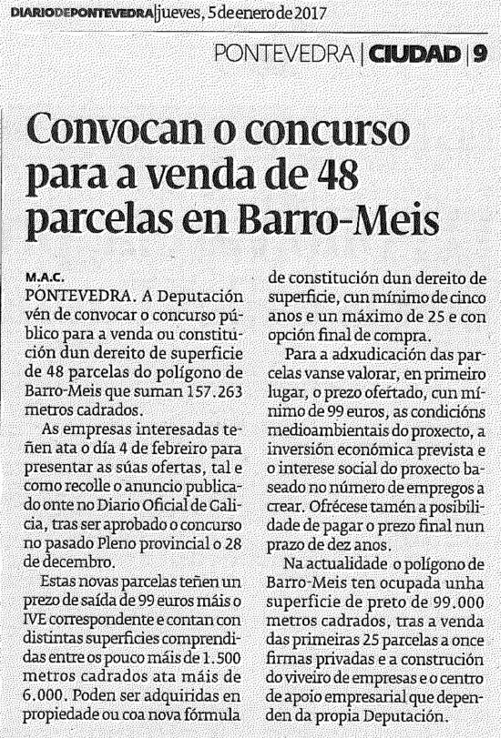 Diario, 5 xaneiro 2017